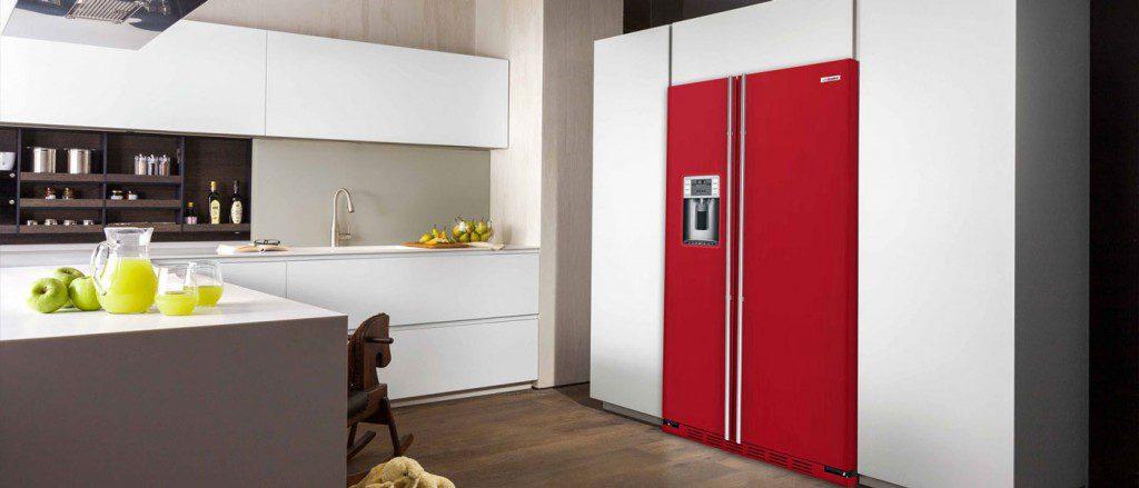 Side by Side Kühlschrank Einbau