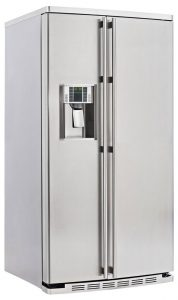 Optionen bei einem amerikanischen Kühlschrank
